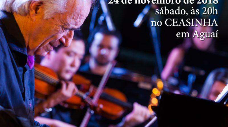 Apresentação da Orquestra Bachiana Filarmônica acontece dia 24 em Aguaí