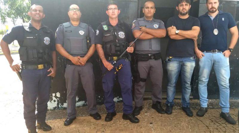 Guarda Municipal captura dois homens em Aguaí