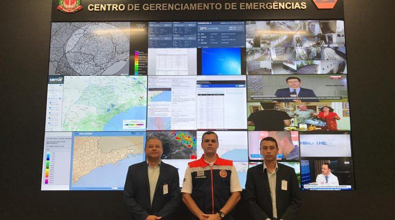 Prefeitura de Aguaí participa de reunião em São Paulo para implantação da Coordenadoria Municipal de Defesa Civil