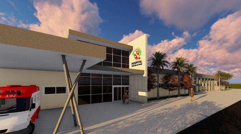 Prefeitura iniciará processo para execução da 2ª fase das obras do Hospital