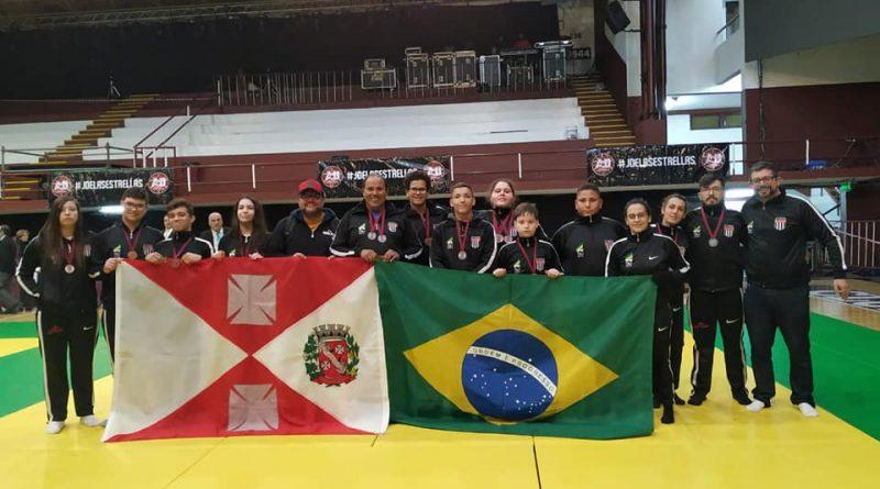 Equipe Aguaiana de Judô é vice-campeã em Torneio Internacional realizado na Argentina