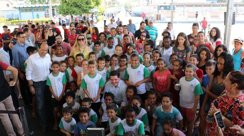 Governador Cauê Macris visita Aguaí e libera 1 milhão e 600 mil para a cidade
