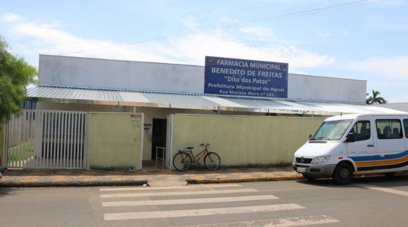 Farmácia Municipal recebe cobertura no Pátio