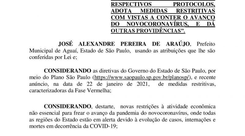 Novo decreto de enquadramento no Plano São Paulo